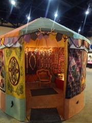 quilted yurt