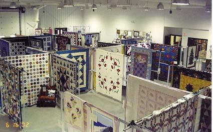 quilt show floor