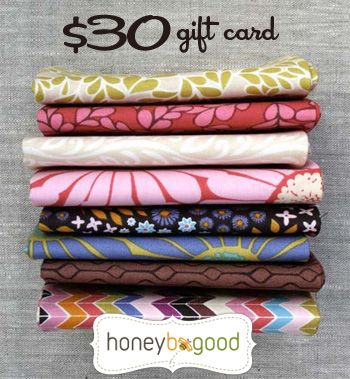 April Give-Away: HoneyBeGood.com $30 Gift Certificate!