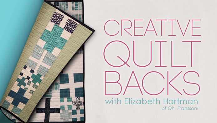 What Do You Use for Quilt Backing Fabric? | Quilt Show News : how to back a quilt - Adamdwight.com