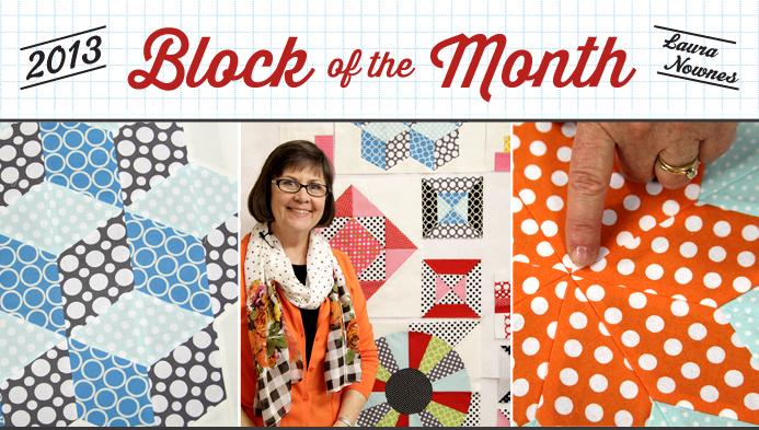 Free Block of the Month Series with Laura Nownes