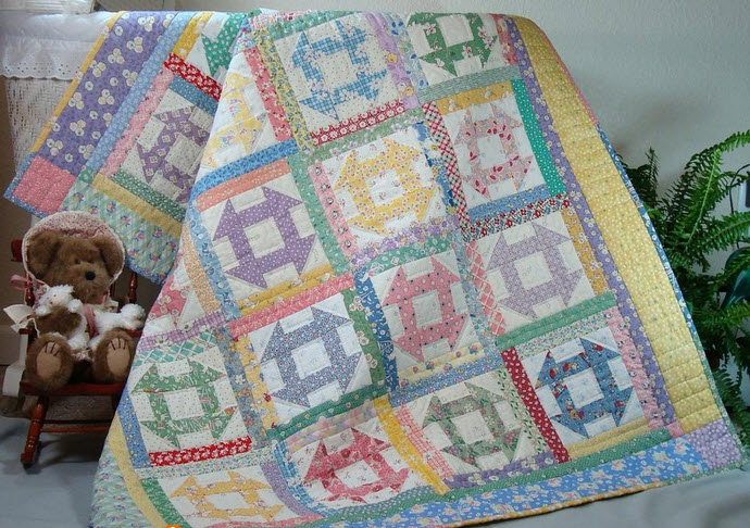 12 Traditional Patchwork Quilt Block Patterns