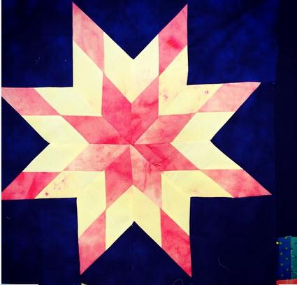 How I Made My First Lemoyne Star Quilt Block