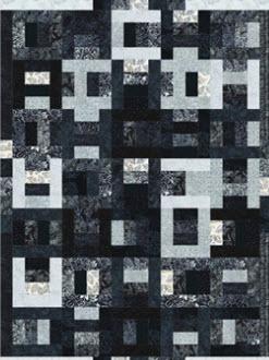 Scrappy Rails Quilt Pattern