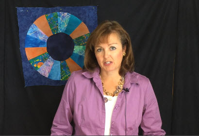 How to Make a Quilter's Fan Quilt Block