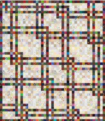 10 Patchwork Scrap Quilt Patterns