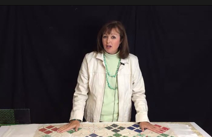 How to Pin Baste a Quilt with Nickel-Finish Safety Pins
