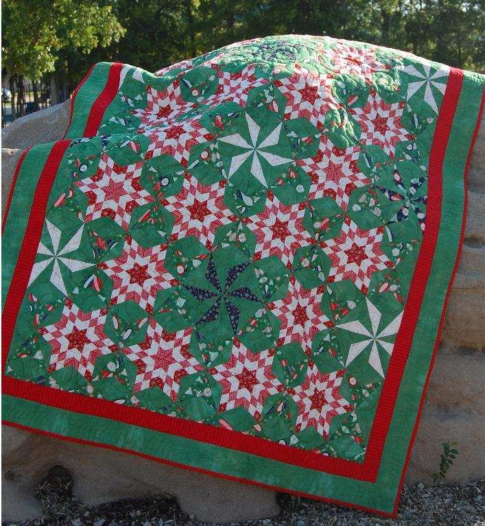 10 Snowflake Quilt Patterns that will Warm Your Heart   Quilt Show ... : red snowflake quilt - Adamdwight.com