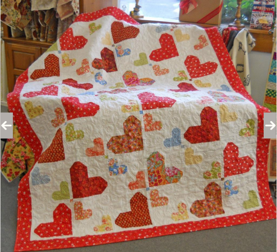 10 Heart Quilt Projects for Valentines Day Quilt Show News