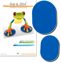 Best Tool for Free Motion Quilting – Grip and Stitch Quilting Pads