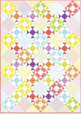 Free Quilt Pattern:  Popsicle Summer from Windham Fabrics