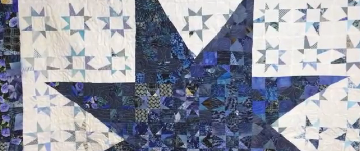 Free Scrap Quilt Pattern: Use Up Those Scraps with These Free-Form Stars Quilt Show News
