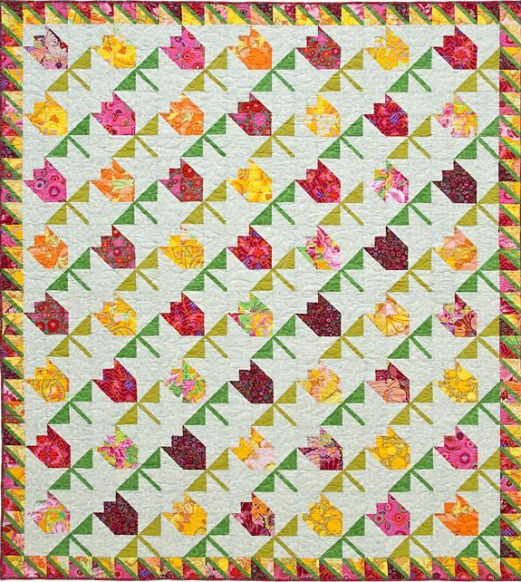 10 Tulip Quilts to Brighten Up Your Spring!