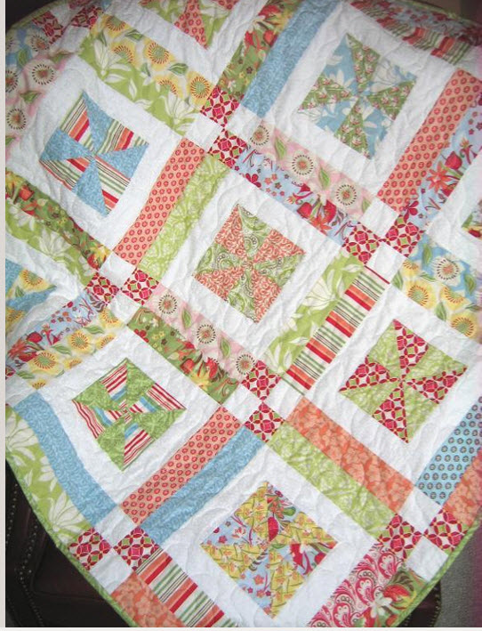 Lemonade Layer Cake Quilt Pattern