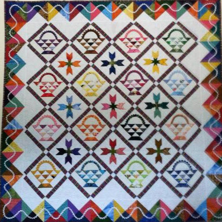 11 Basket Quilt Blocks –  Lots of Styles and Sizes