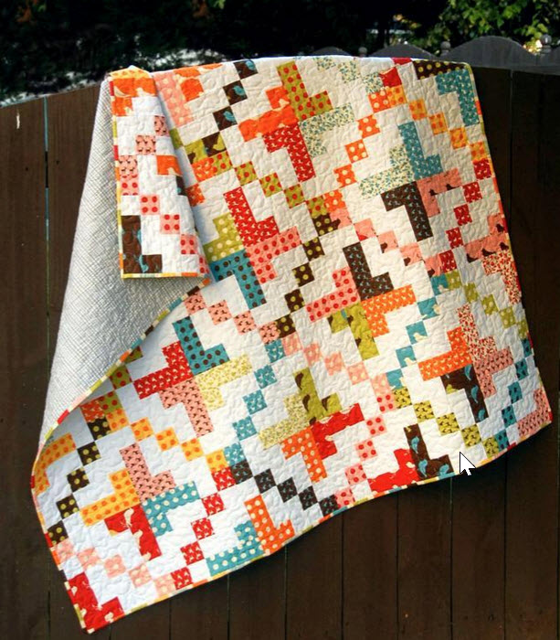 10 Easy Jelly Roll Quilts with a Modern Look