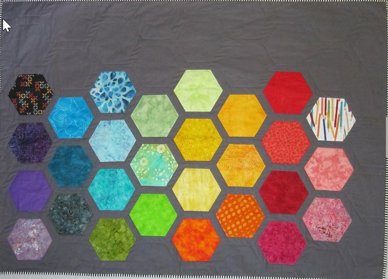 10 Hexagon Quilt Patterns – If You Think You're Hexie!