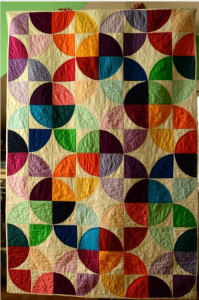 10 Drunkard's Path Quilt Patterns – Get Inspired by this ... : traditional quilt blocks - Adamdwight.com