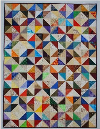 10 Easy Triangle Quilts – Inspirations for your Next Quilt!
