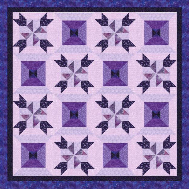 10 Pinwheel Patterns For Spring Quick And Easy Quilt