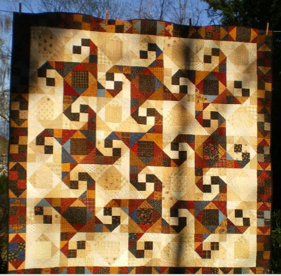 12 Traditional Quilt Blocks – Ohio Star, Snail Trail, Churn Dash, Irish Chain and more!!