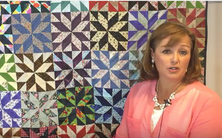 Big Stitch Quilting is Great for Scrap Quilts – Try one, You'll Love it!