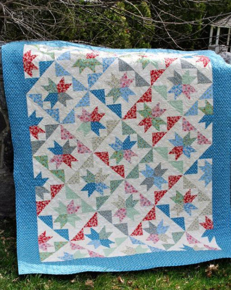 Layer Cake Quilt Patterns Easy : 12 Layer Cake Quilt Patterns   Fast and Easy! Quilt Show ...