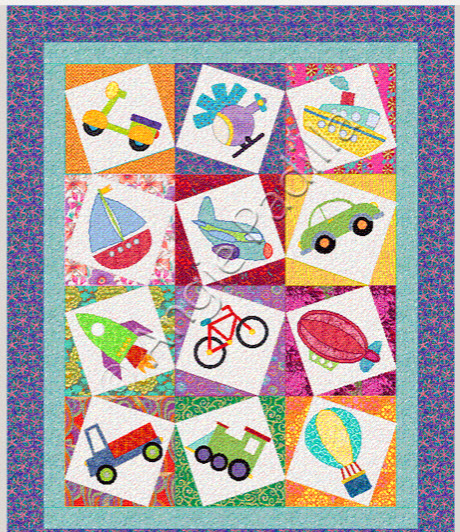 12 Kids Quilts – For the Children in Your Life