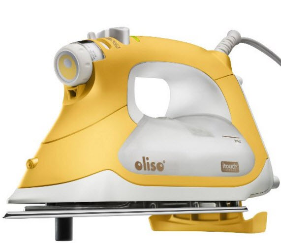 Best Iron for Quilting – Oliso Pro Auto Lift Iron
