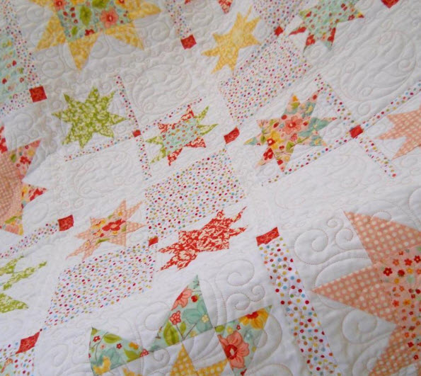 12 Star Quilt Patterns – some Traditional, some Modern, and some are Free!