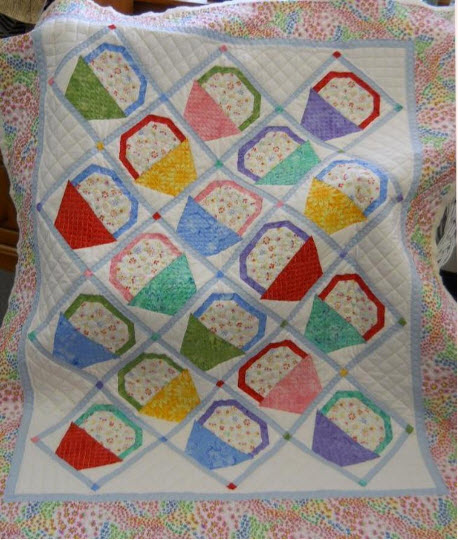 12 Basket Quilt Block Quilts – So Many Different Styles!