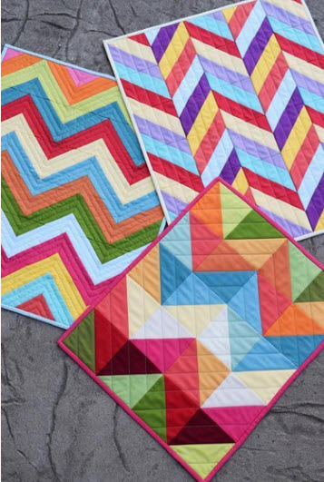 Modern Quilt Patterns For Beginners : 10 Modern Quilts For Beginners Fast and Easy! Quilt Show News