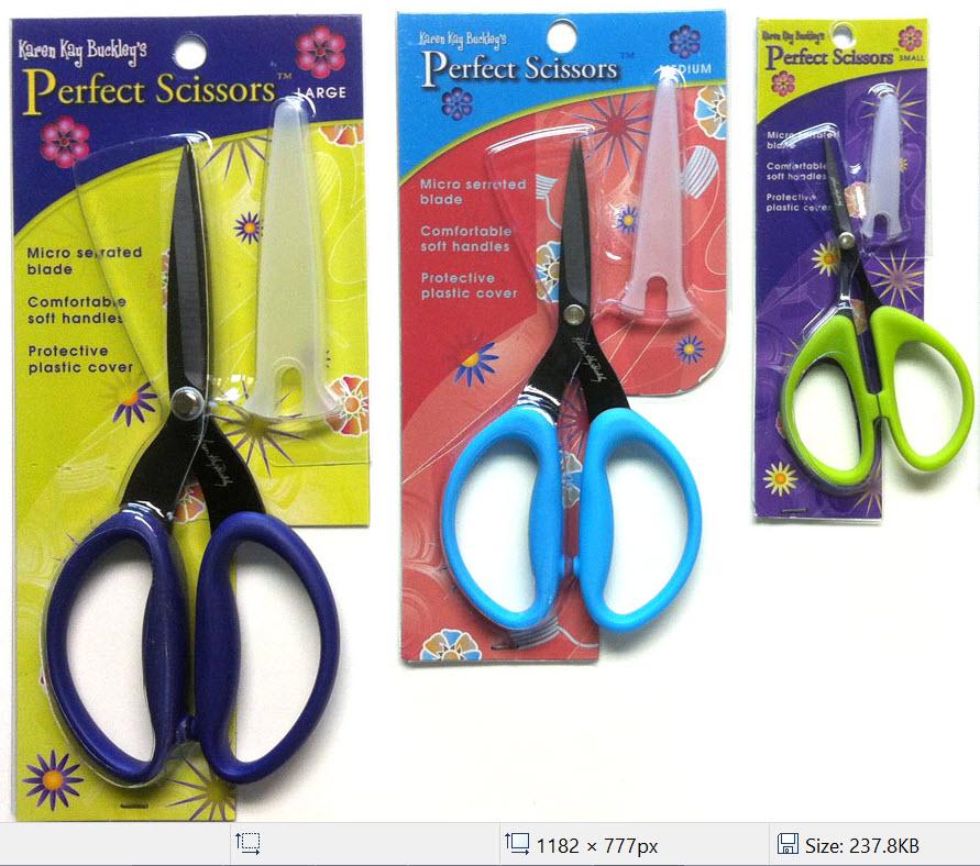Best Quilting Scissors – Karen Kay Buckley Perfect Scissors