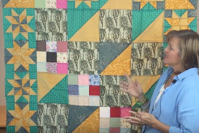 Improvisational Quilting – Quilt Construction and Color Contrast