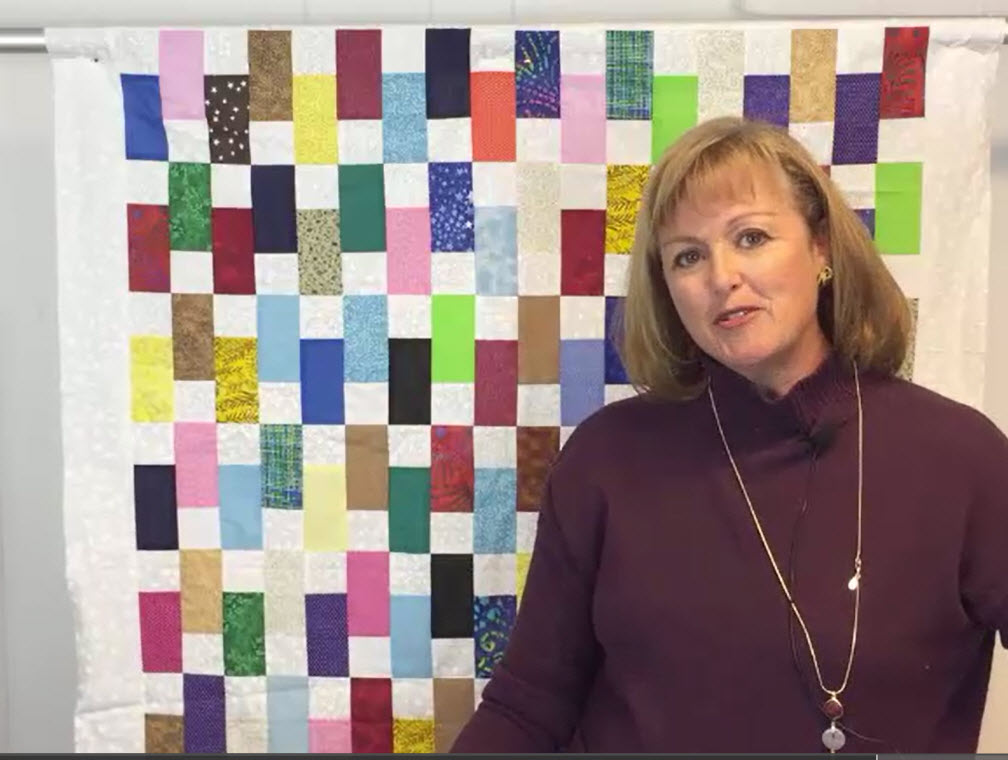 Fast and Easy Scrap Quilt Tutorial – Use Up Those Scraps!
