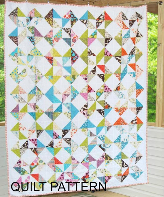 12 Pinwheel Quilt Patterns – Easy to make and so Beautiful!