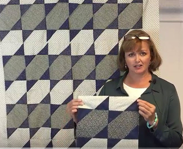 Easy Quilt For Beginners – Midnight Star Quilt Tutorial