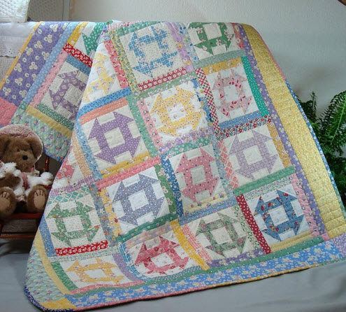 10 Simple Churn Dash Quilt Patterns Easy Block With Big Results