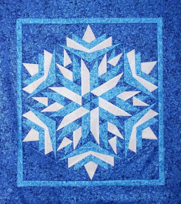 10 Snowflake Quilt Patterns That Will Warm Your Heart