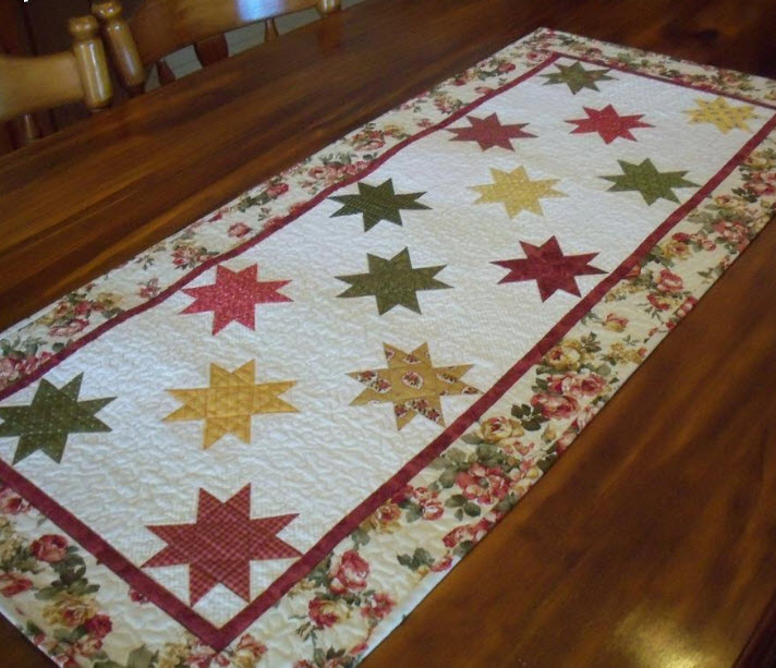 12 Easy Quilted Table Runners Make One Today Quilters